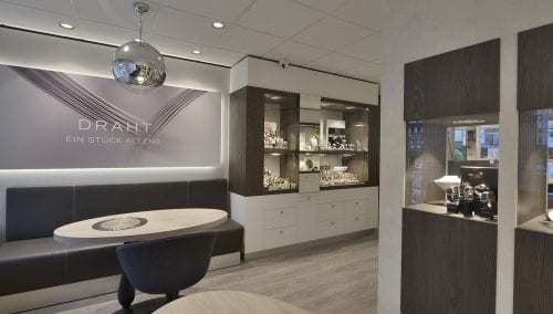 Interieur Juwelier Betzler in Altena