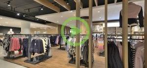 Winkelinrichting Berden Mode door WSB Interieurbouw