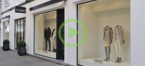 Ontwerp inrichting Cleo Mode - Antwerpen