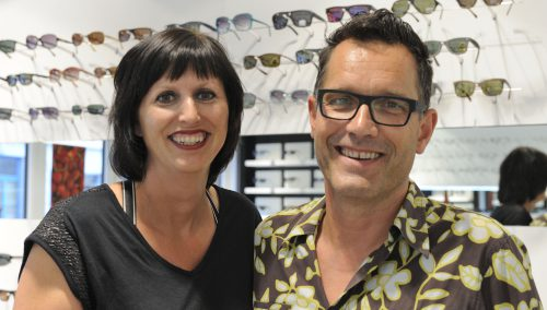 Interieur Nuytink Optiek – Evergem (BE) > Retail Bouwmanagement