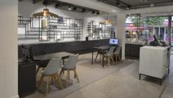 Trendy shopdesign voor Beeks Oog en Oor te 's-Gravenzande
