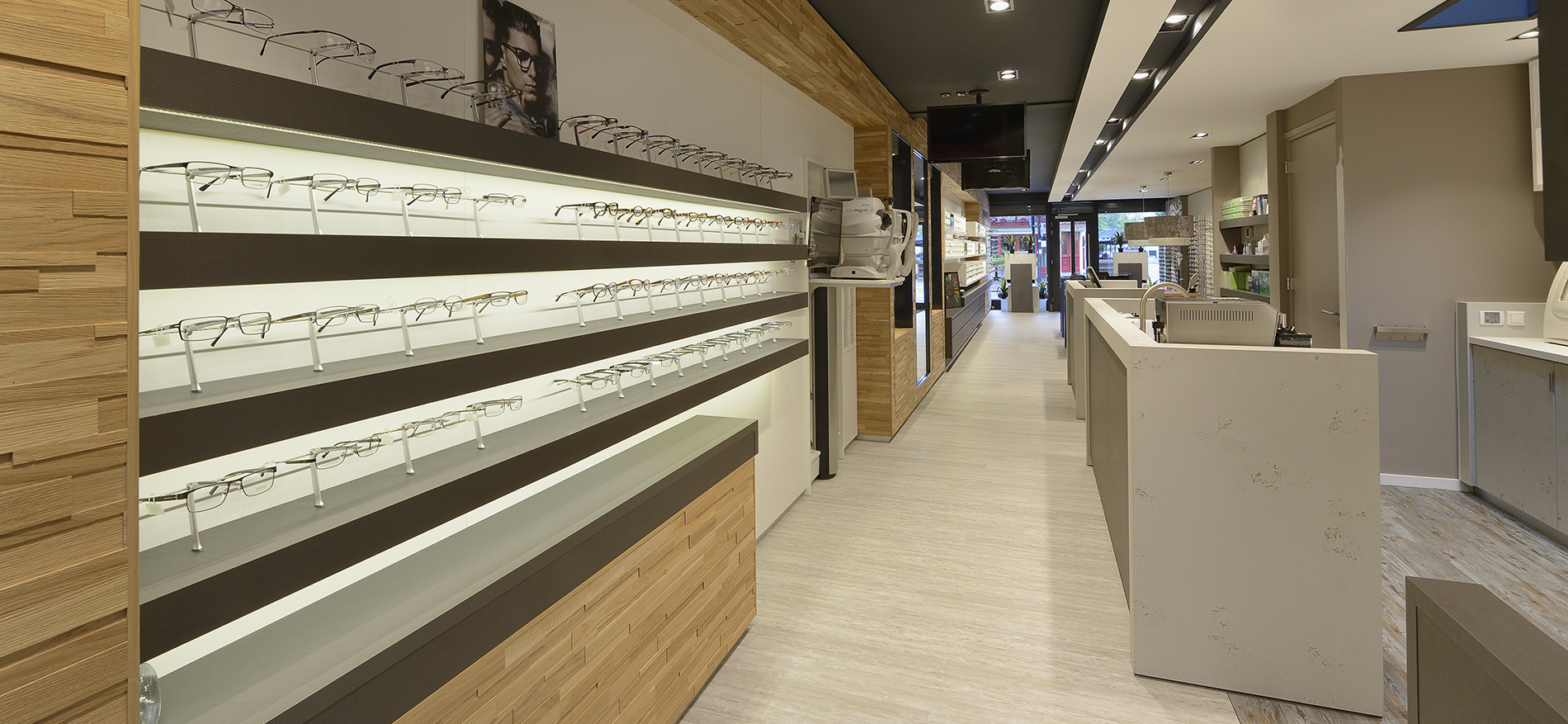 Optique zeist l 39 architecture d 39 int rieur d 39 optique for L architecture d interieur