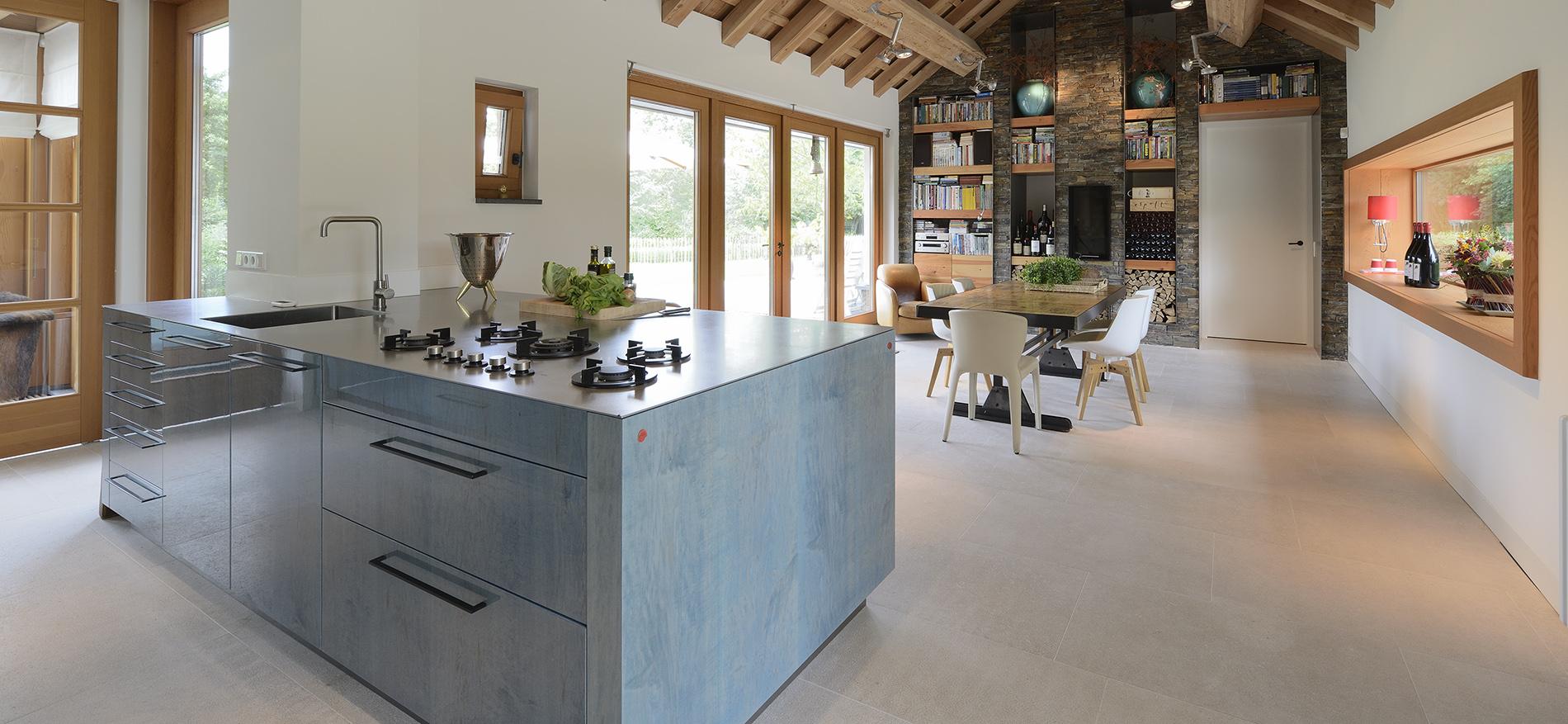 innen und au enausstattung villa von wsb ladenbau. Black Bedroom Furniture Sets. Home Design Ideas