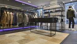 Kings Square – Amsterdam: Agencement boutique de mode