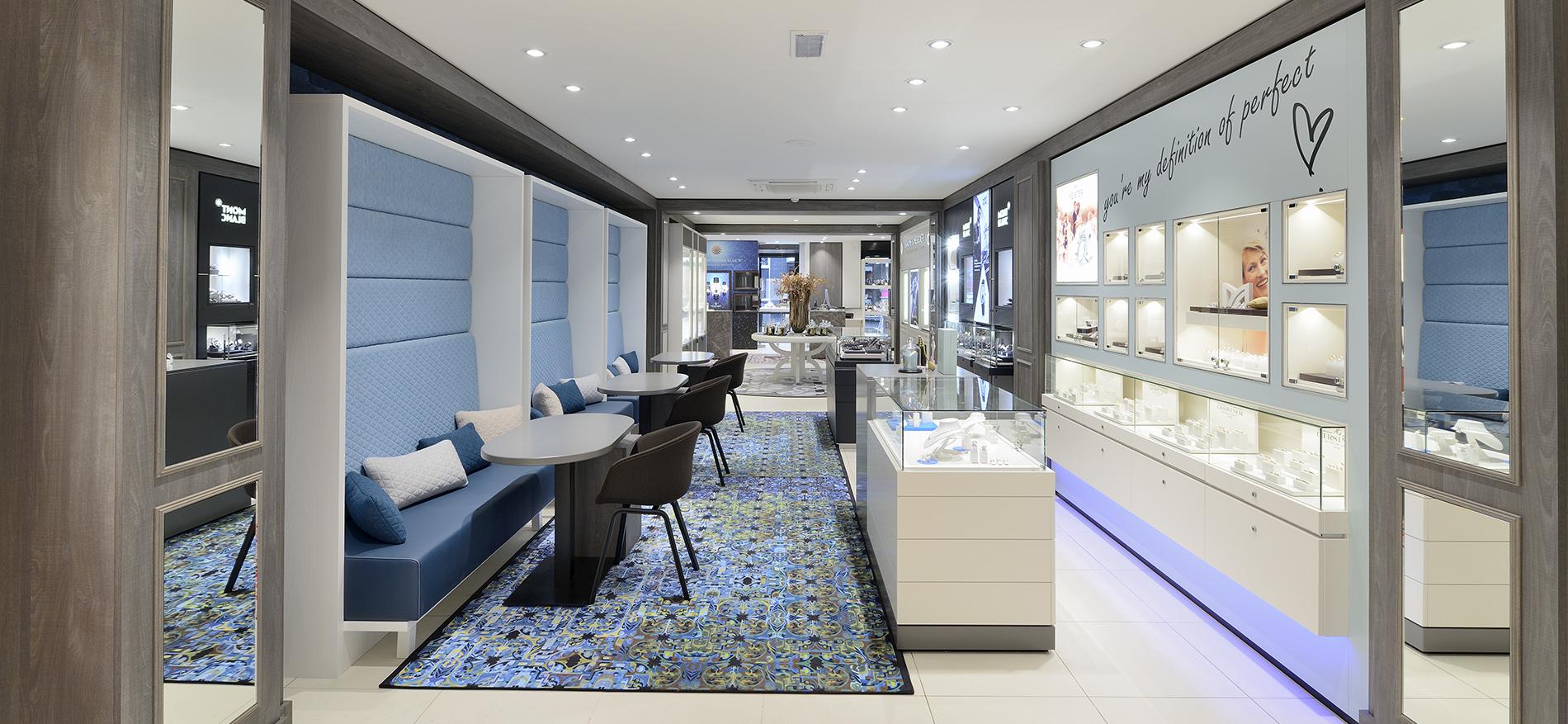 Nr 1 d m nagement de la bijouterie concept de magasin et agencement - Amenagement ontwerp ...