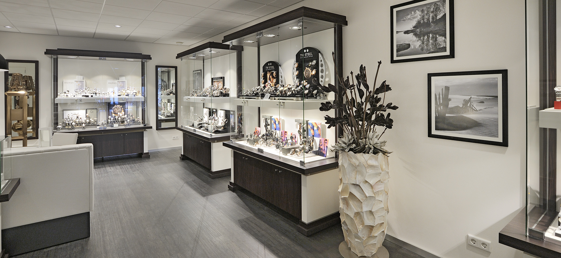 winkelinrichting juwelen en horloges