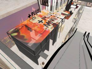 Plusminus Optique Luxembourg par WSB Concept de magasin d'optique agencement Nico Schreuder 09