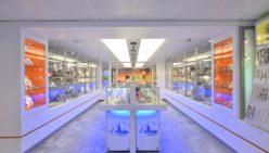 Amsterdams Diamant Museum Inrichting en ontwerp door WSB