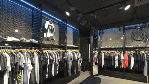 Winkelverlichting voor de mode: Commerciële energiezuinige beleving