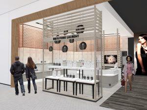 Winkel inrichting Juwelen Coming soon Agencement Bijouterie Laurent 002