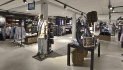 Bossenbroek Men's Fashion: Retail design and shopfitting