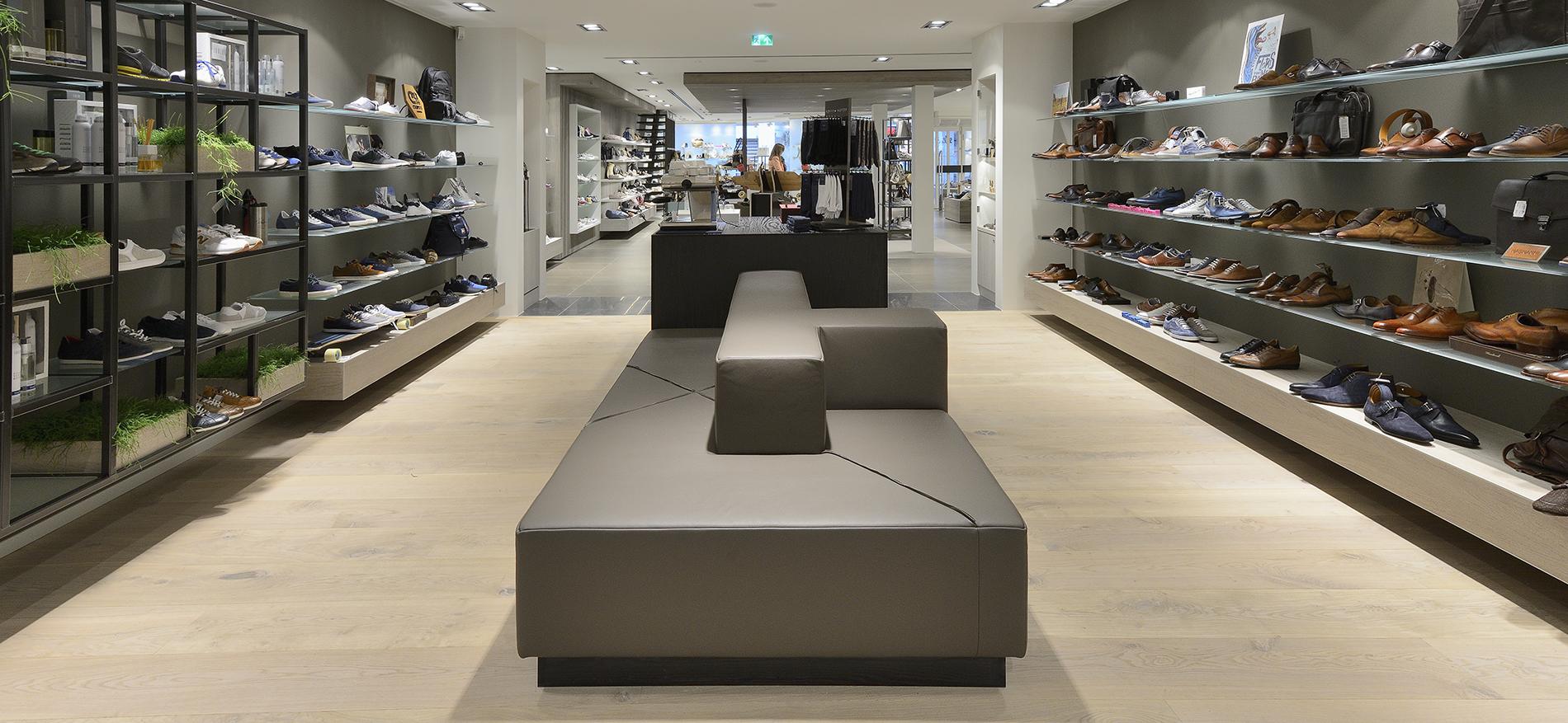 konzept store f r shuz einrichtung schuhgesch ft. Black Bedroom Furniture Sets. Home Design Ideas