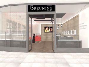 Breuning Konzept Entwurf Ladeneirnrichtung Juwelier Schmuck Trauringe