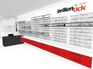 Ladeneinrichtung Augenoptiker