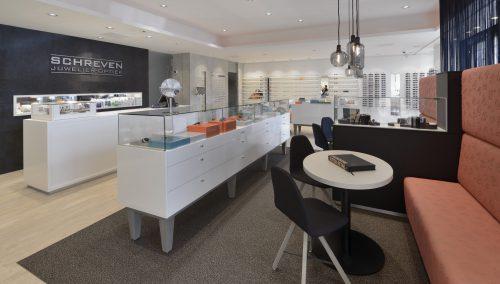 Juwelier Optiek Schreven: unieke winkel inrichten voor Patrick