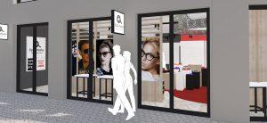 Waller Optik Hofheim Individuelle Entwurf und Ladeneinrichtung Augenoptik Ladenbau _4517