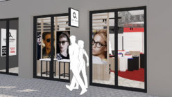 Waller Optik – Hofheim (DE): Design and shopfitting optician shop