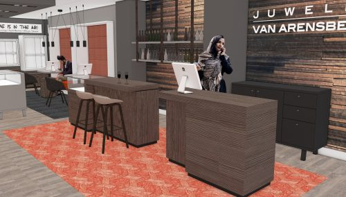 Coming Soon: Interieurconcept voor Juwelier van Arensbergen in Malden