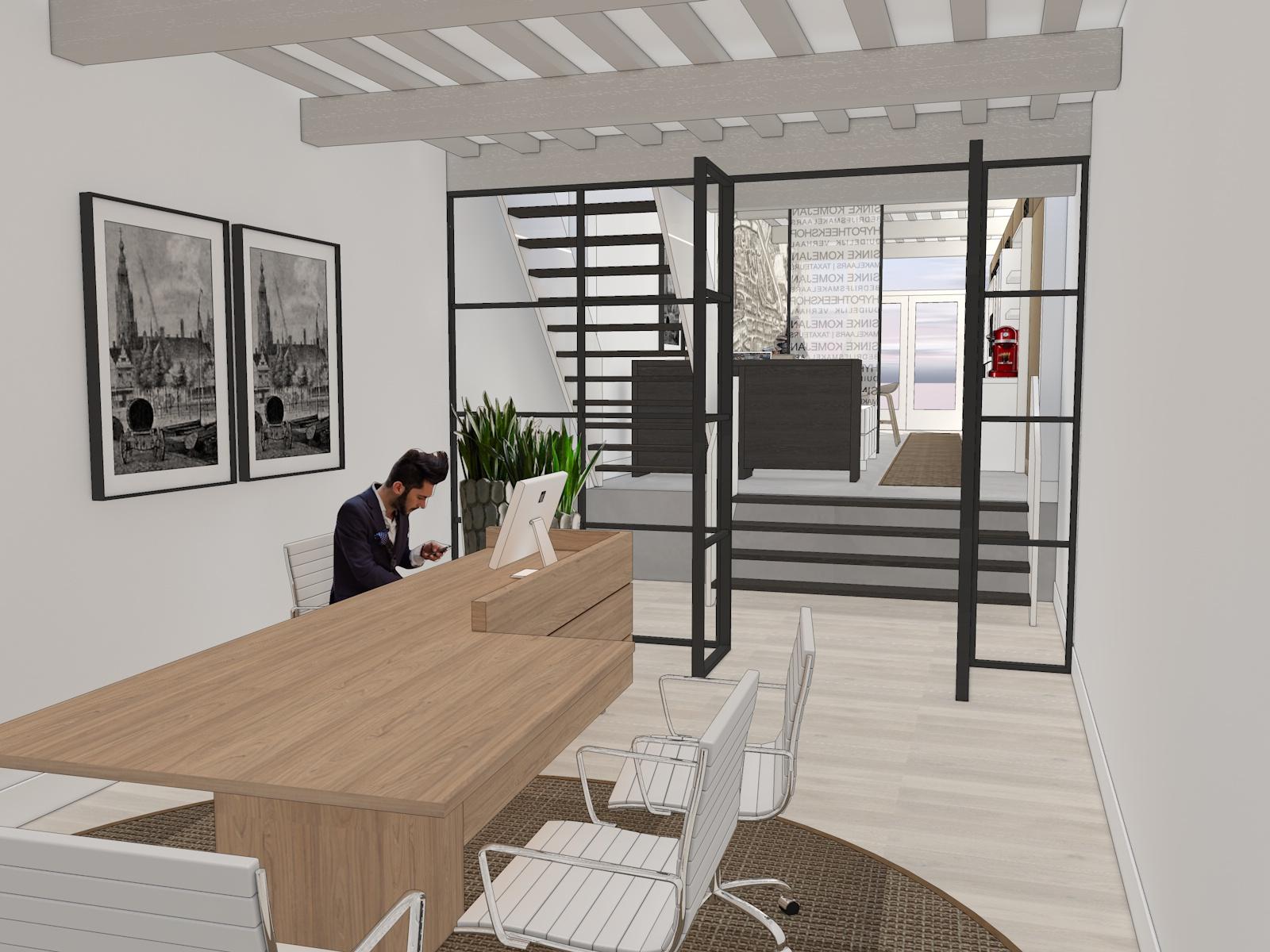 Coming soon nieuw interieurconcept makelaarskantoor sinke for Kantoor interieur ideeen