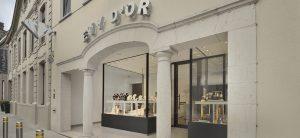 Ontwerp en inrichting door WSB interieurbouw bij Juwelier Evy d' Or - Ingelmunster - Belgie