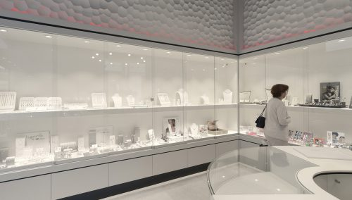 Bijouterie Laurent – Mons (BE): Stijlvolle winkelinrichting juwelier