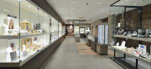Ontwerp en inrichting door WSB interieurbouw bij Juwelier- Arensbergen - Malden