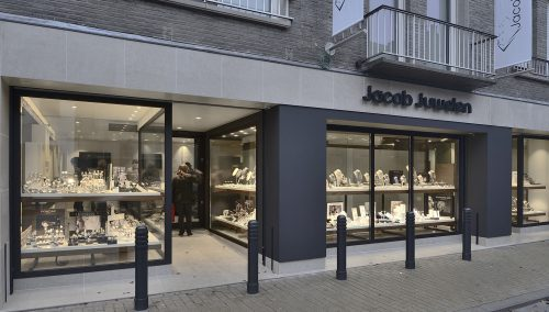 Jacob Juwelen – Lebbeke: Shop design met allure