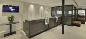 Ontwerp en inrichting door WSB interieurbouw bij Juwelier Jacob - Lebbeke - Belgie