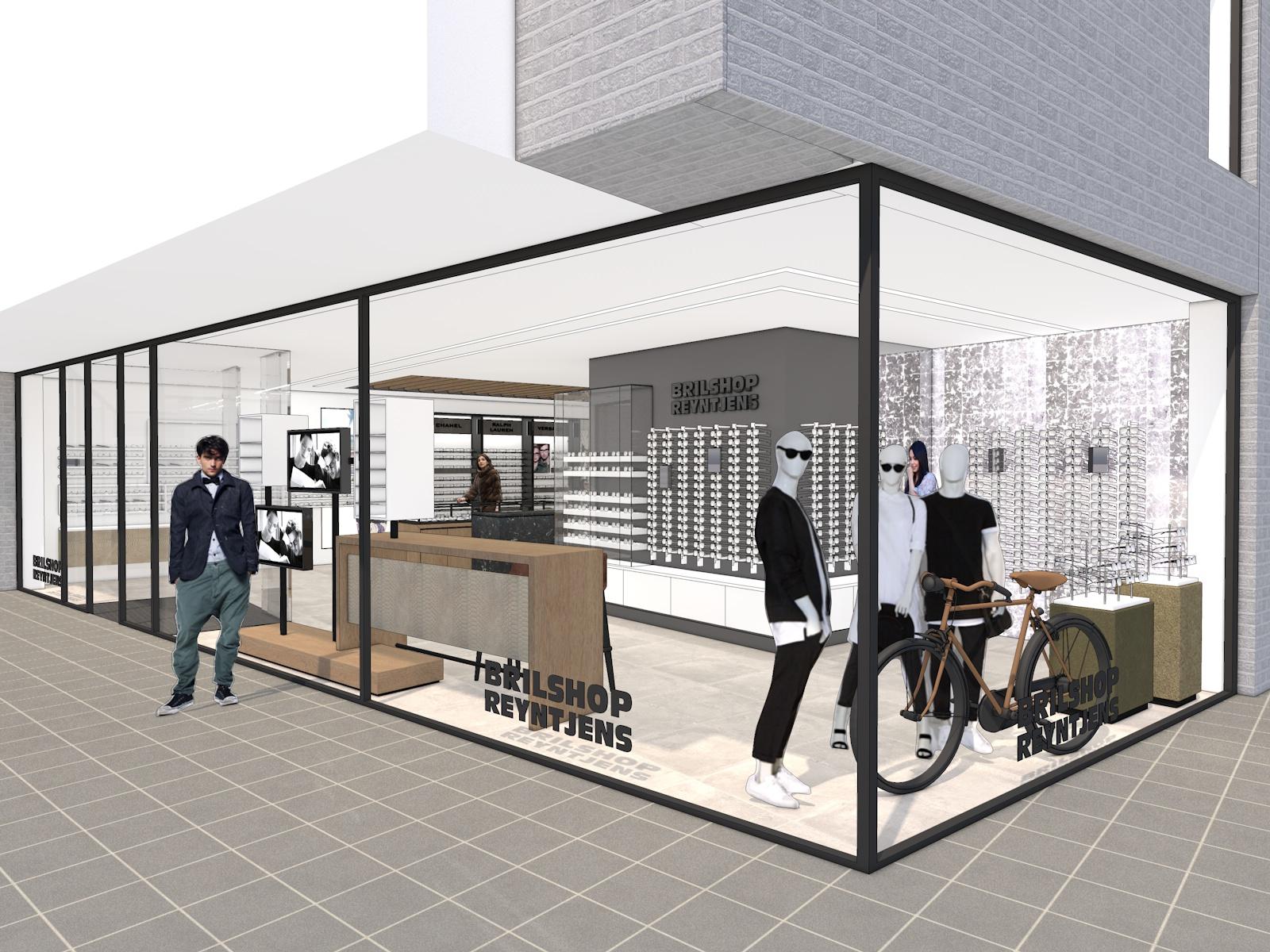 Nieuw Interieur Brilshop Reyntjens Putte