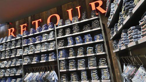 Concept Retour Jeans in Outletcentrum Roermond.
