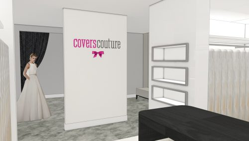 Coming Soon: Complete winkelverbouwing Covers Couture Utrecht