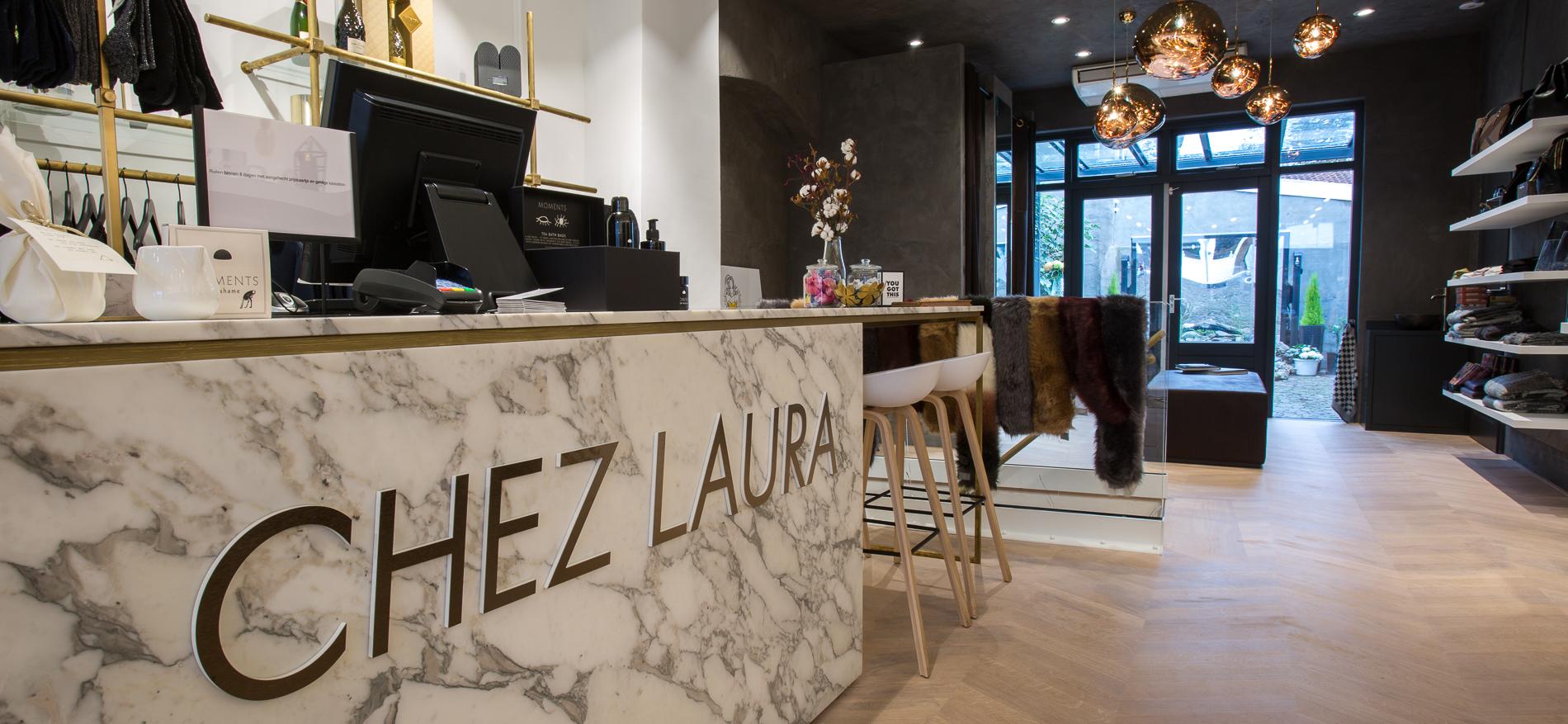 7286e5f5538 Chez Laura in Harderwijk: Prachtig retail design van WSB