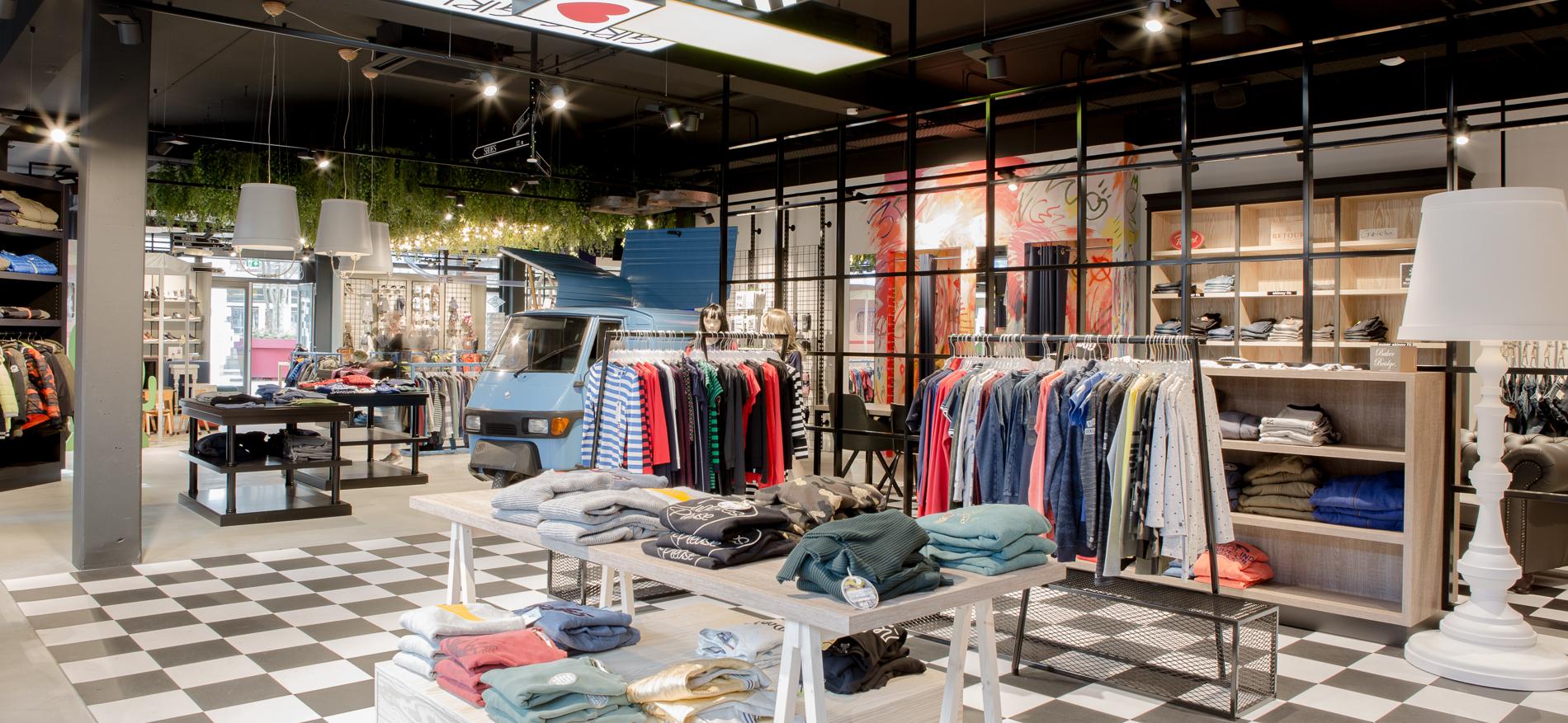 Design Kinderkleding.Bubbles Bo Winkelinrichting Kinderkleding Door Wsb Retail Design
