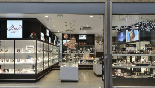 Bigor | Kirchberg (LU), winkelbouw juwelierszaak