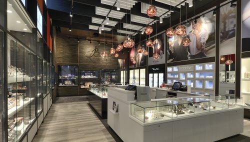 Bigor | Differdange (LU), winkelontwerp juwelierszaak