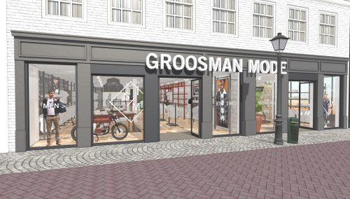 Coming Soon: Winkelontwerp Groosman Mode  | Sluis