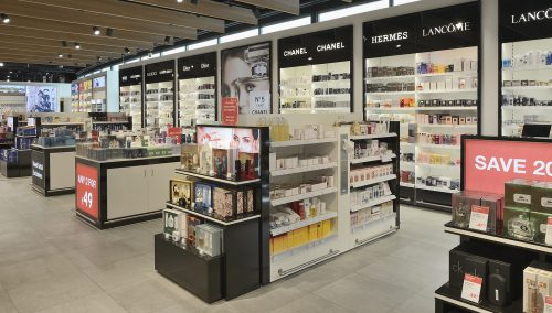 Shop&Fly | Bremen (DE) -Turn key Interieur luchthaven