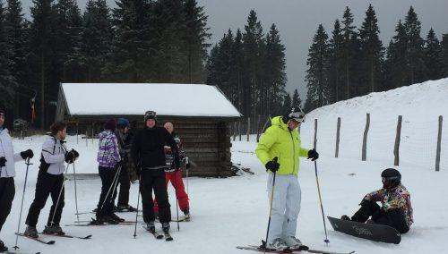 Skiën in Winterberg met team WSB