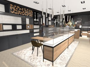 Interieurontwerp in Schoonhoven voor Rikkoert Juweliers