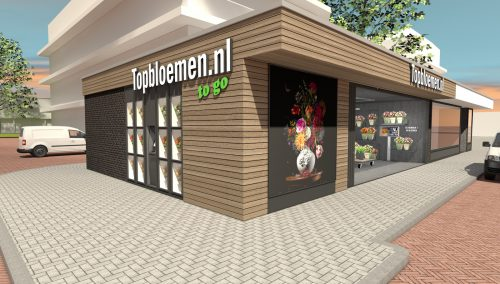 Coming Soon: Offline winkelconcept voor Topbloemen.nl | Amstelveen