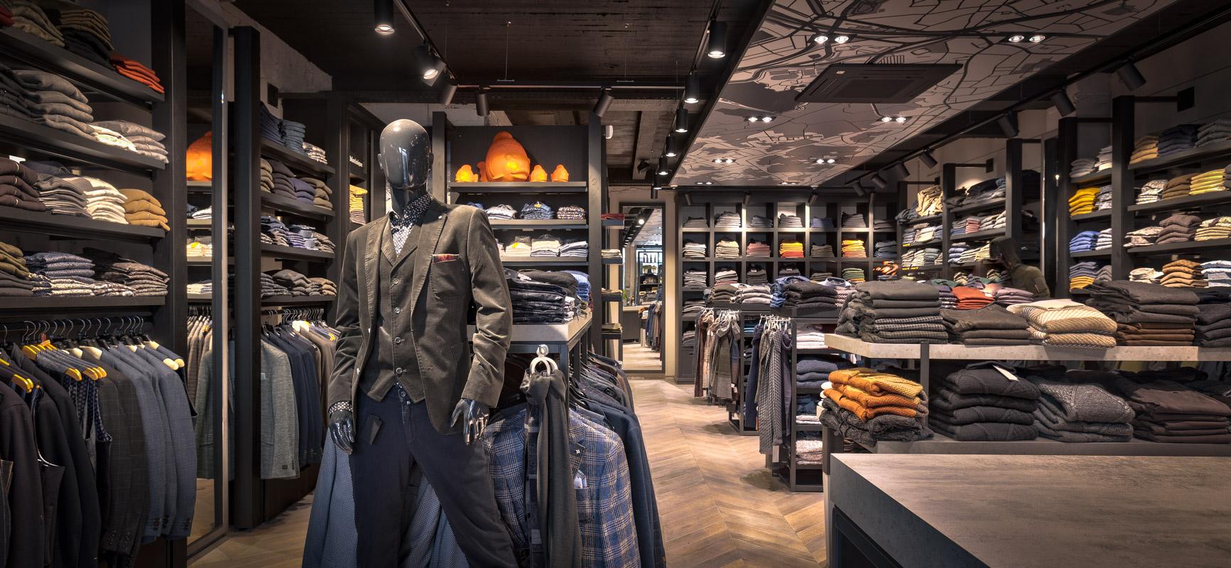 Winkelinrichting Mechelen voor Alibi Mode
