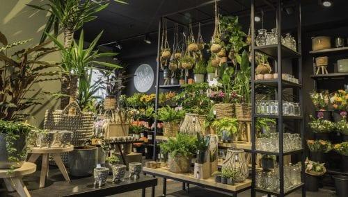 Inrichting bloemenwinkel Van Beest Bloemen | Leusden