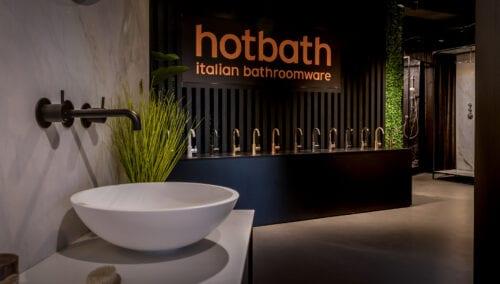 Hotbath – Showroominrichting voor badkamers